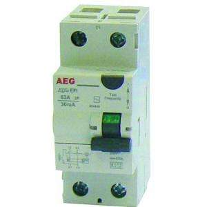 INTERRUPTEUR DIFFERENTIEL 63A 30MA TYPE AC AEG AUN604449