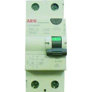 INTERRUPTEUR DIFFERENTIEL 63A 30MA TYPE A AEG AUN604944