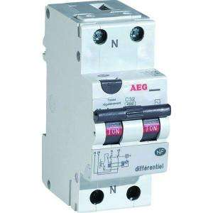 DISJONCTEUR DIFFERENTIEL 20A 30MA TYPE AC AEG AUN608453