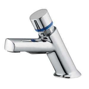 ROBINET DE LAVABO TEMPORISE CHROME RH - DESIGN